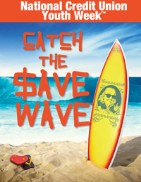 Catch the save wave badge